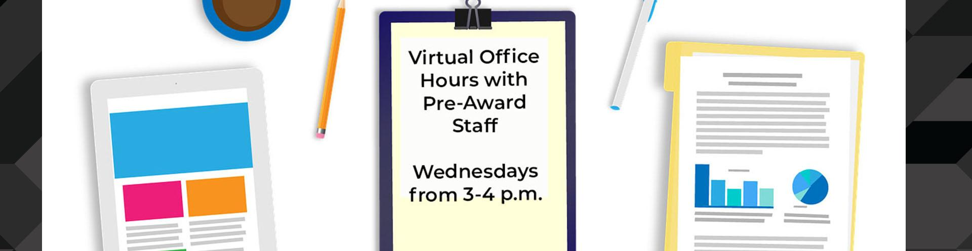 Connect with Pre-Award Staff