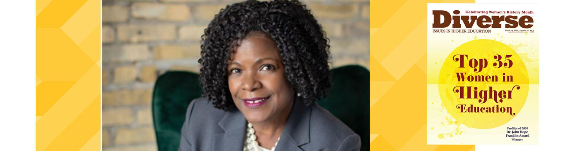 Chief diversity officer recognized