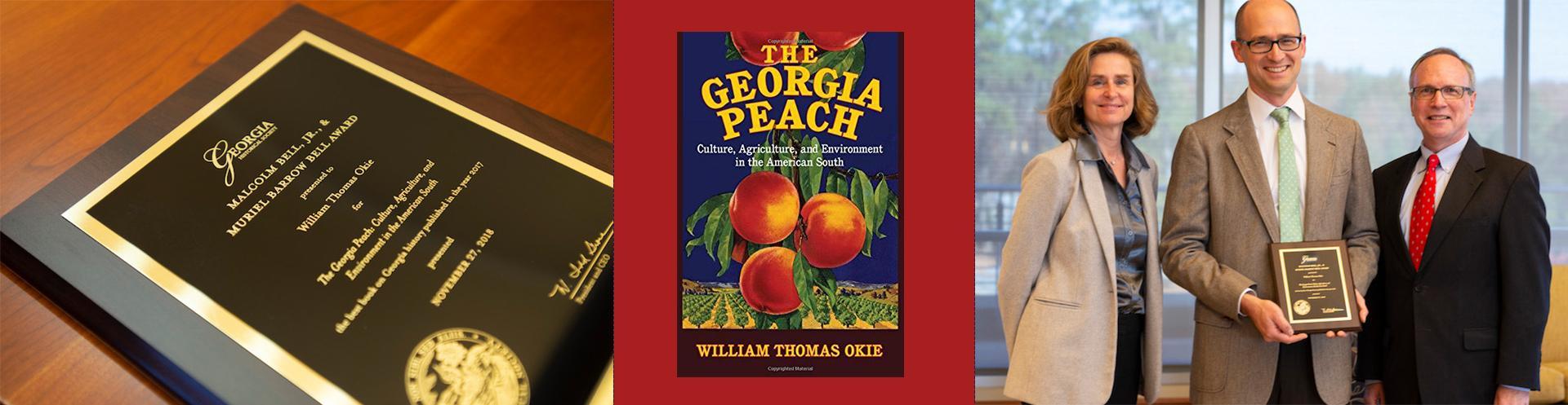 Professor Earns Georgia Historical Society Book Award