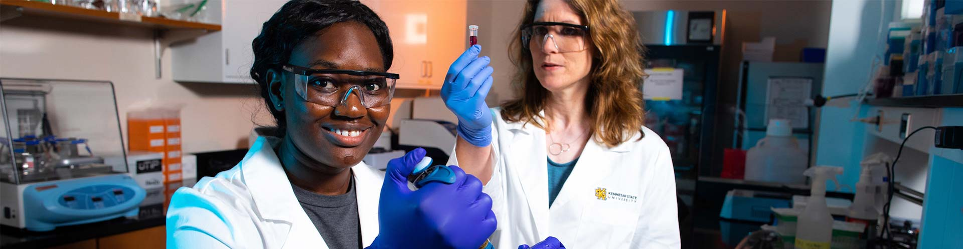 Summer research experience inspires KSU biochemistry major