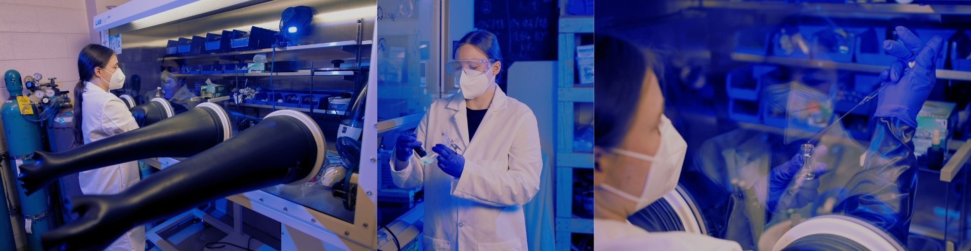Postdoctoral researcher brings international experience to inorganic chemistry lab