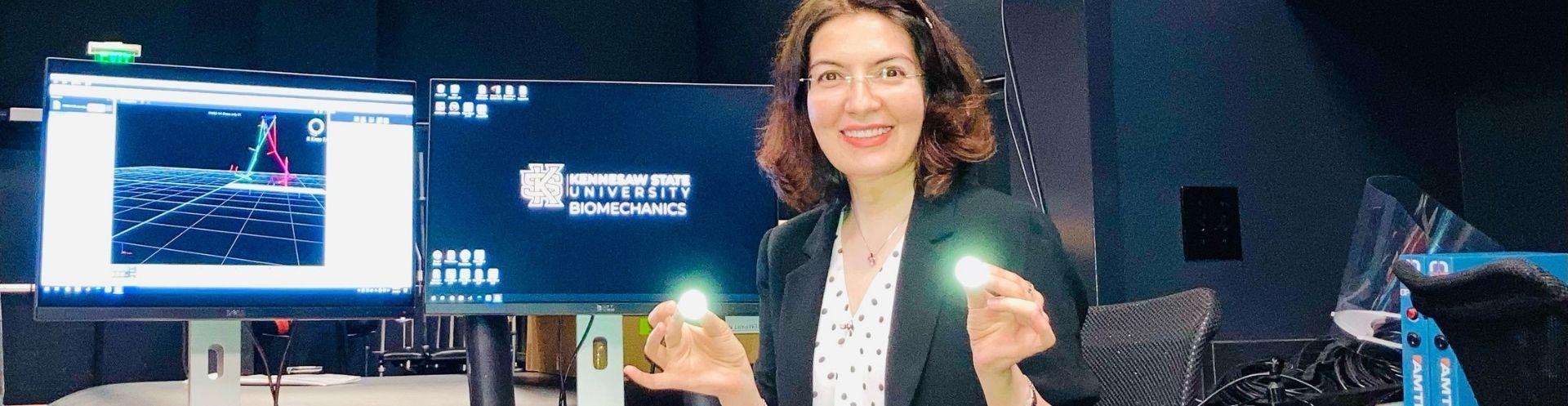 Postdoctoral researcher brings clinical experience to KSU's Biomechanics Lab