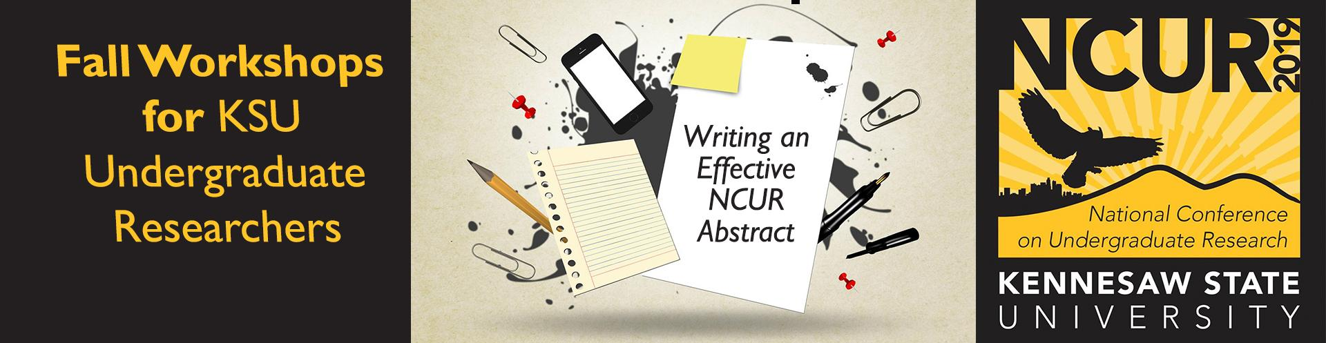 Abstract Writing Workshops for KSU Undergraduates