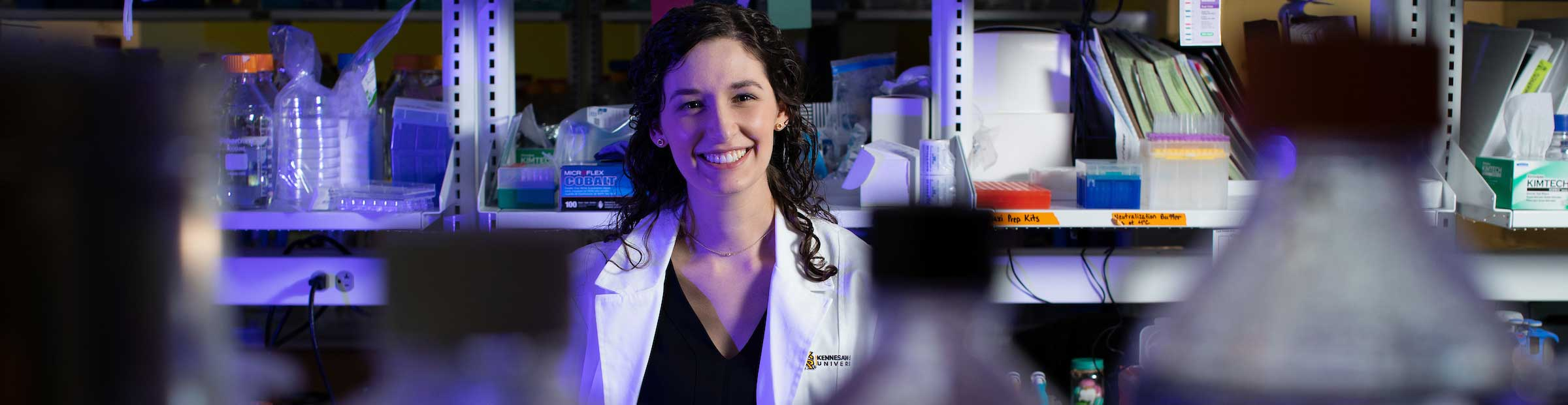 KSU graduate blends arts and science, evolves as researcher